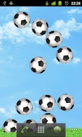 Screenshot of Bouncy Soccer Wallpaper FREE