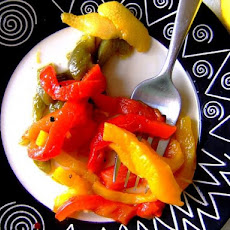Quick and Tangy Marinated Sweet Peppers