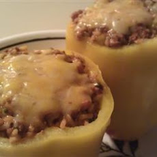Chorizo Stuffed Bell Peppers