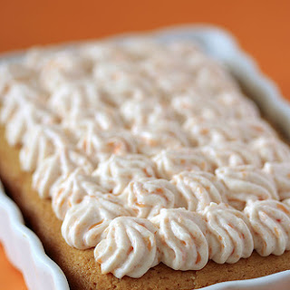 Fresh Coconut Cake with Papaya Cheesecake Frosting