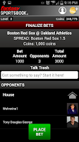 Screenshot of Fantasy Sportsbook