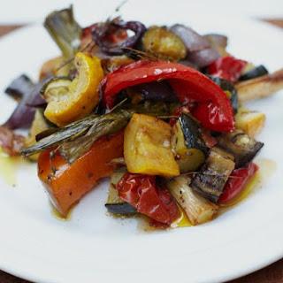 Roasted Vegetables Eggplant Pasta Recipes