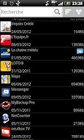 Screenshot of Droid Uninstaller