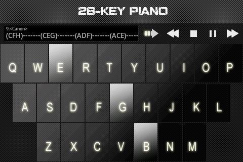 26鍵鋼琴
