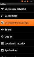 Screenshot of Orange Octane for CM7 (Donate)