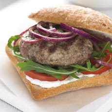 Rosemary & Garlic Lamb Burgers