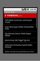 Screenshot of Vivanews.com (unofficial)