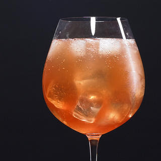 Sparkling Campari Cocktail