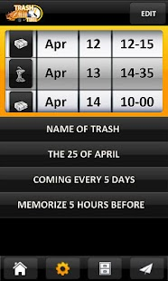 TrashTime - Garbage Reminder - screenshot