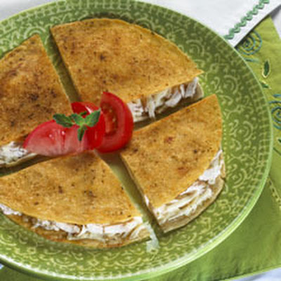Seasoned Fried Quesadillas