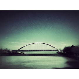 by Jeff Stephenson - Buildings & Architecture Bridges & Suspended Structures ( humber, canada, humberbridge, instasize, toronto, ontario, lake, bridge )