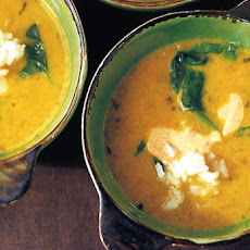 Yellow Pea and Coconut Milk Soup Recipe