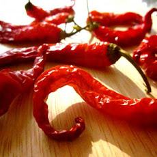 Oven Dried Hot Peppers-Flakes or Powder