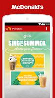 Screenshot of McDonald's UK