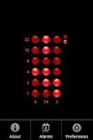 Screenshot of Nibble Time-A Binary Clock