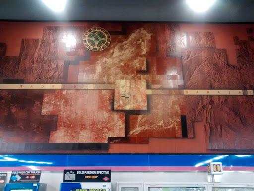 Murales Metro Barajas