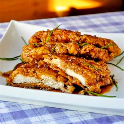 Double Crisp Honey Garlic Chicken Breasts