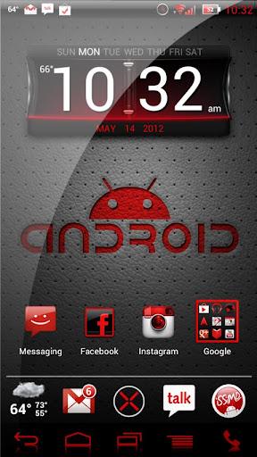 NateModz Red CM10 Theme