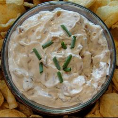 French Onion Dip From Scratch