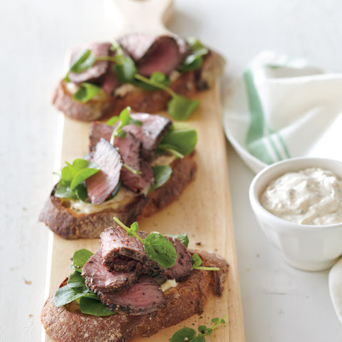 Steak Sandwiches with Shallot-Thyme Aioli