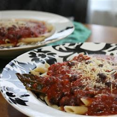 Penne with Vegan Arrabbiata Sauce