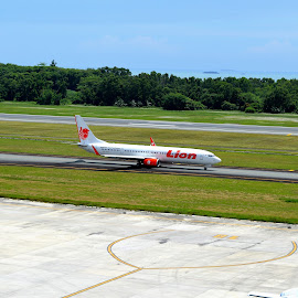 Lion Air by Eryusya R - Transportation Airplanes ( airport, vacation, plane, indonesia, aircraft,  )