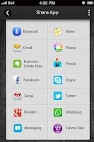 Screenshot of Fingerprint Lock Screen
