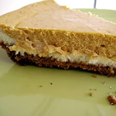 Double Layer Pumpkin Cheesecake