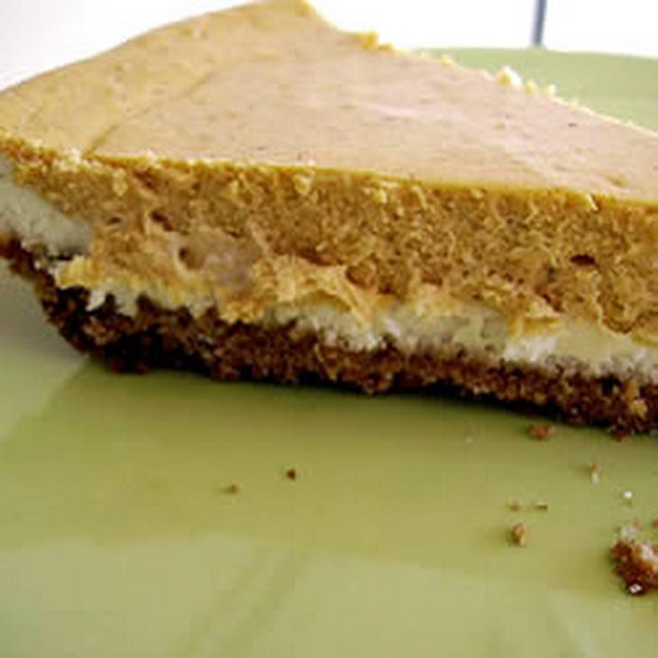 Double Layer Pumpkin Cheesecake Recipe — Dishmaps