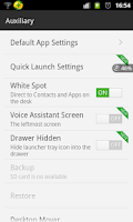 Screenshot of 360 White Spot Widget