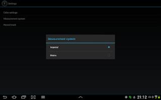 Screenshot of GPS Speedometer Free