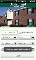 Screenshot of Apartment Rental Book