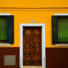 Spongebob House by Toine Baken - Buildings & Architecture Homes ( detail, spongebob, window, door, architecture, house, colours,  )