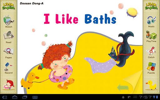 리틀잉글리시-I Like Baths 4세용