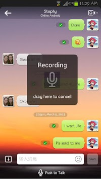 MiTalk For Mface APK screenshot thumbnail 1
