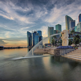 Merlion Park by Ken Goh - City,  Street & Park  City Parks