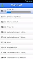 Screenshot of La Guia TV