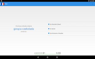 Screenshot of Ucz się języka Francuskiego