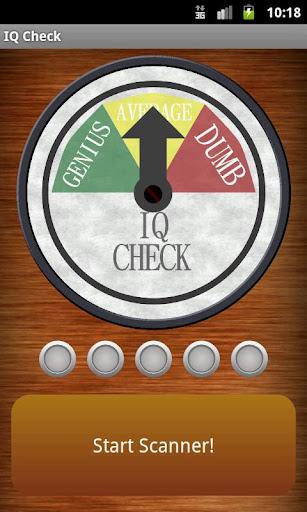 玩娛樂App|IQ檢查(掃描儀/檢測器)免費|APP試玩