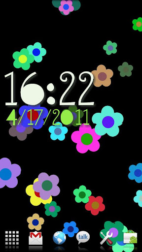 꽃의 흐름 FlowerFlow LiveWallpaper