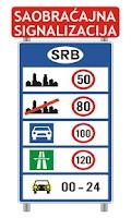 Screenshot of Saobracajni znakovi
