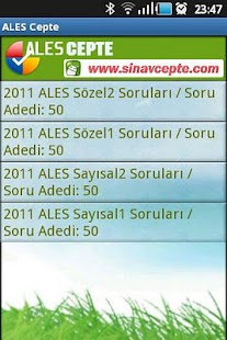 ALES Cepte - screenshot