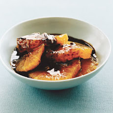 Oranges with Balsamic-and-Anise Caramel