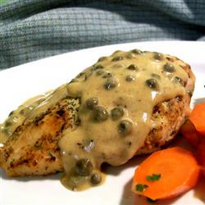 chicken breasts in caper cream sauce allrecipes capers dried dillweed ...