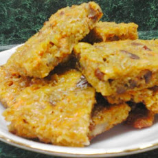 Oat Cuisine! Savoury Cheese, Nut and Oat Flapjacks