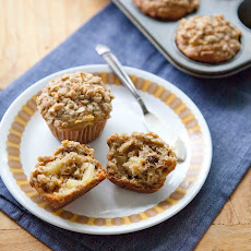 Morning Glory Crumble Muffins