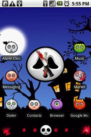 Open Gesture Halloween Theme