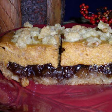 Pumpkin Mincemeat Bars