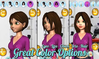 Screenshot of Make Up Games: Princess 3D Pro