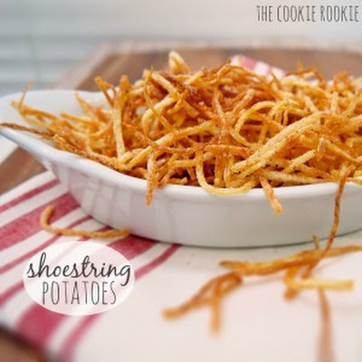 Shoestring Potatoes & a GIVEAWAY!!